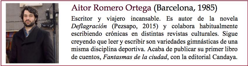 Bio Aitor Romero
