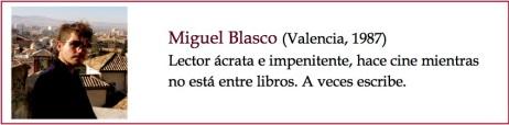 Miguel Blasco bio