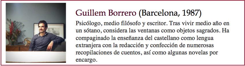 Guillem Borrero bio