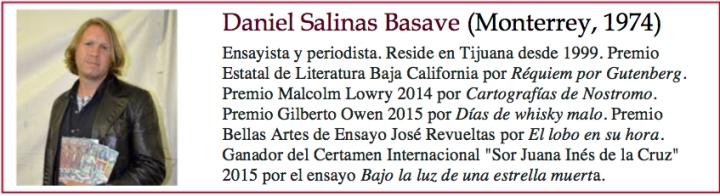 Daniel Salinas Basave bio