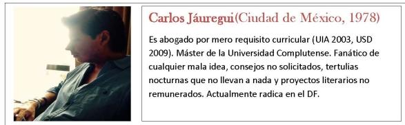Bio Jauregui 2020